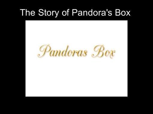 pandoras box story