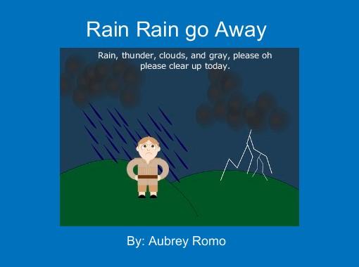 Rain Rain Go Away Coloring Page: Free Books & Children's Stories