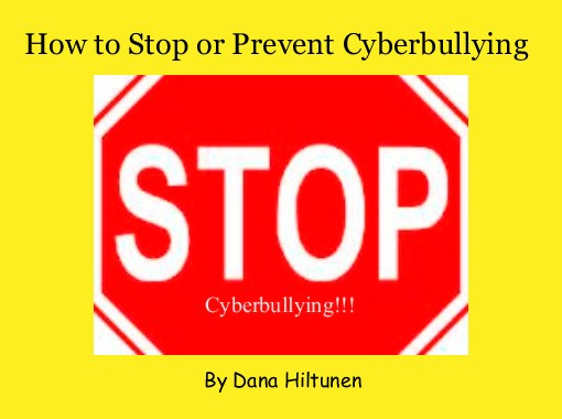 how to stop or prevent cyberbullying free books children s