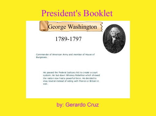 president s booklet free books children s stories online