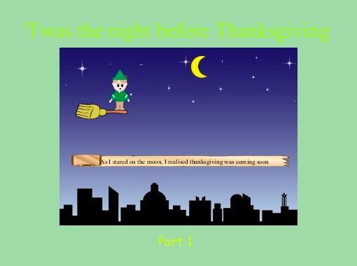 Twas The Night Before Thanksgiving Free Books Children S