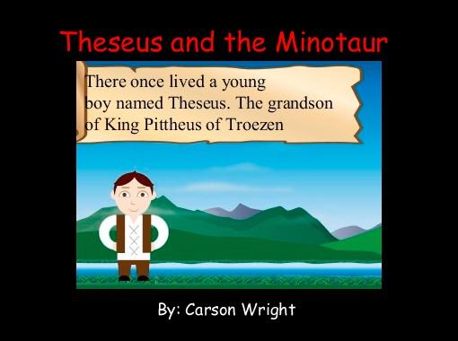 Theseus And The Minotaur Free Books Children S Stories