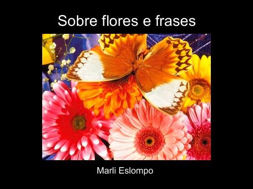 Sobre Flores E Frases Free Books Childrens Stories