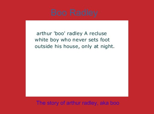 boo radley books children s stories online storyjumper  boo radley books children s stories online storyjumper