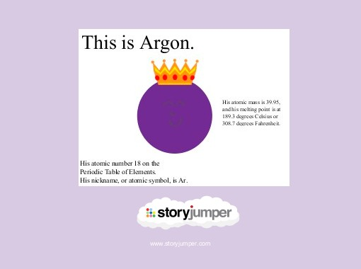 The Story Of Argon Free Books Childrens Stories Online