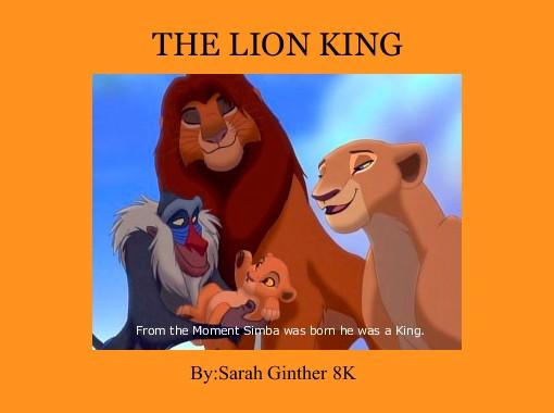 the lion king free books children s stories online storyjumper