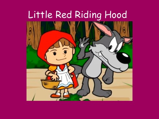 free little red riding hood story