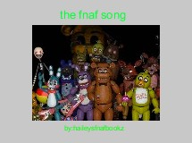 the fnaf song
