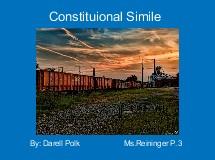 Constituional Simile