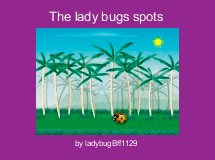 The lady bugs spots
