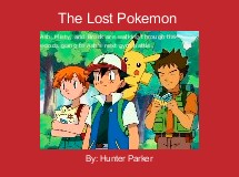 The Lost Pokemon