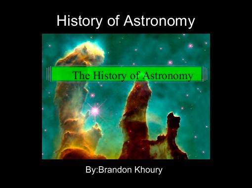founder of astronomy - photo #1