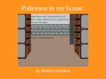 Pokemon in my house