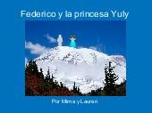 Federico y la princesa Yuly