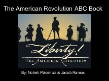 The American Revolution ABC Book
