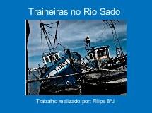 Traineiras no Rio Sado