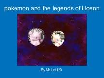 pokemon and the legends of Hoenn