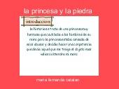 la princesa y la piedra