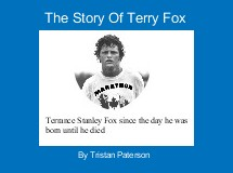 The Story Of Terry Fox