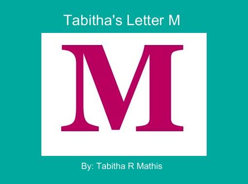 Cover Letter For Children S Book M Cript : Quot tabitha s letter m free books children stories