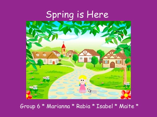 quotspring is herequot free books amp childrens stories online