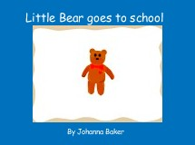 Little Bear goes to school
