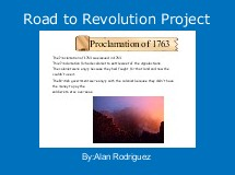 Road to Revolution Project