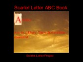 Scarlet Letter ABC Book