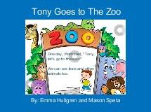 Tony Goes to The Zoo