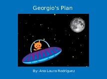 Georgio's Plan