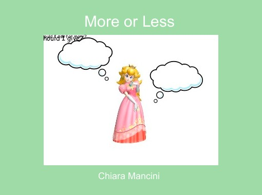 More or less free books children 39 s stories online for Less is more boek