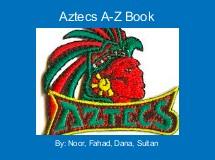Aztecs A-Z Book