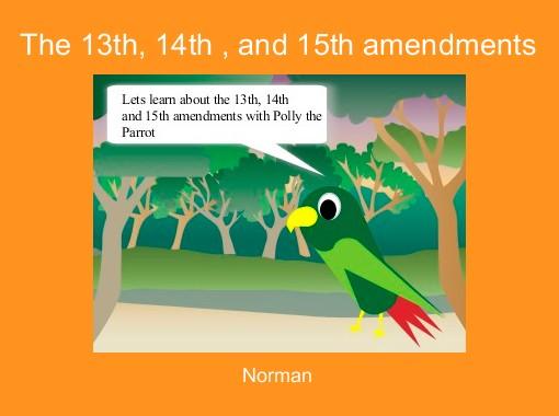 """The 13th, 14th , and 15th amendments"" - Free Books ..."