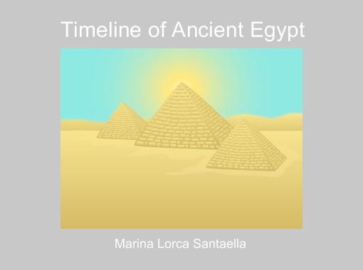 timeline of ancient egypt free books children 39 s