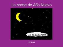 La noche de Año Nuevo
