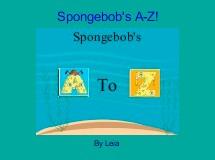 Spongebob's A-Z!