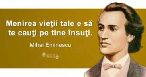 Matematica in operele lui Mihai Eminescu