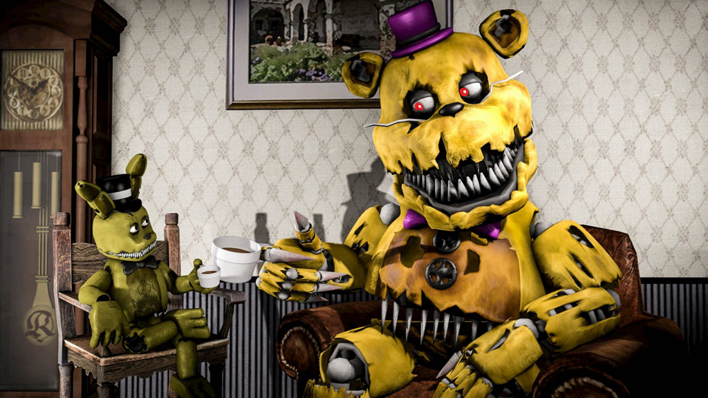 By Monopolapple. Five Nights At. Freddy's. Wallpapers