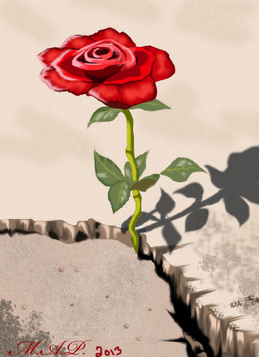 """""""THE ROSE THAT GREW FROM Concrete and othe"""" - Free Books & Children's Stories Online   StoryJumper"""